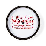 Mac Attack Wall Clock
