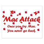 Mac Attack Small Poster