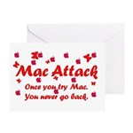 Mac Attack Greeting Card