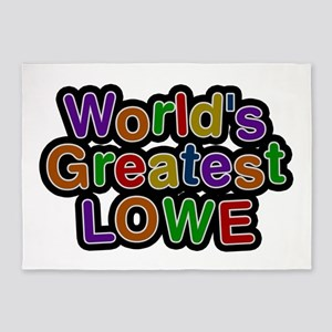 World's Greatest Lowe 5'x7' Area Rug