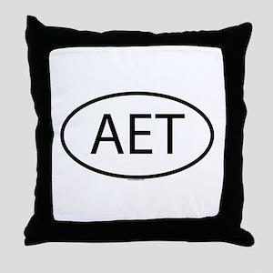 AET Throw Pillow
