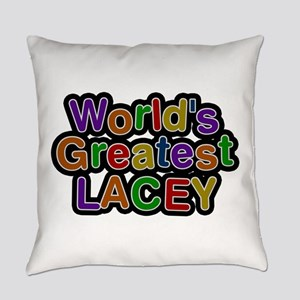 World's Greatest Lacey Everyday Pillow