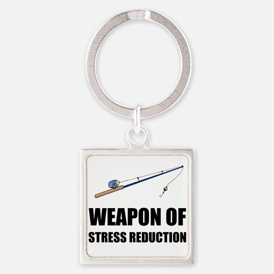 Weapon of Stress Reduction Fishing Keychains