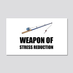Weapon of Stress Reduction Fishing Wall Decal