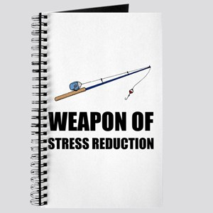 Weapon of Stress Reduction Fishing Journal