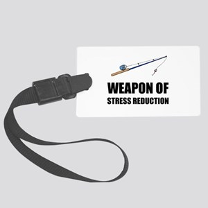 Weapon of Stress Reduction Fishing Luggage Tag