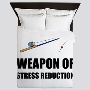 Weapon of Stress Reduction Fishing Queen Duvet