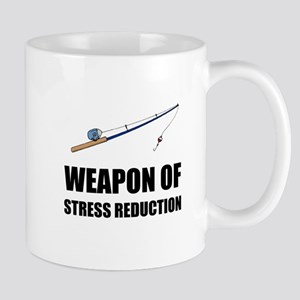 Weapon of Stress Reduction Fishing Mugs