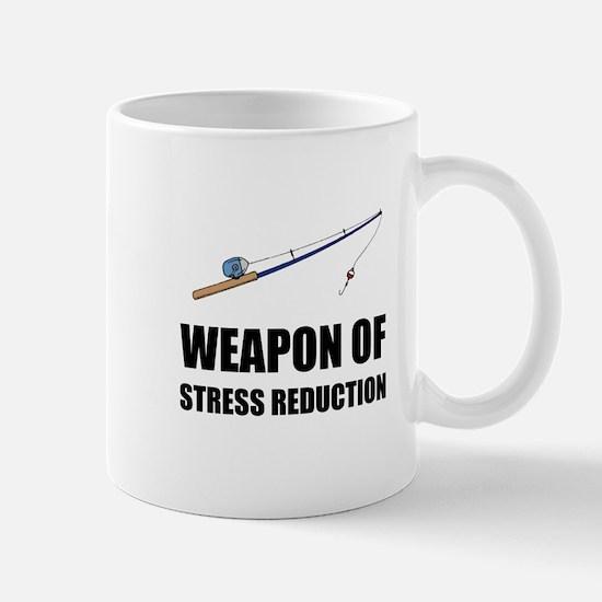 Weapon of Stress Reduction Fishing Mugs