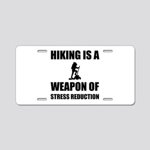 Weapons of Stress Reduction Hiking Aluminum Licens