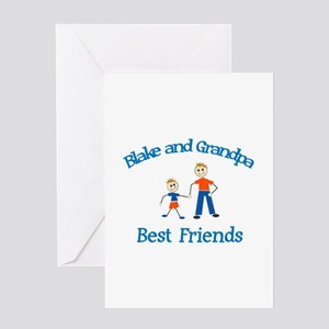 Blake & Grandpa - Best Friend Greeting Card