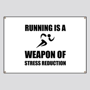 Weapons of Stress Reduction Running Banner