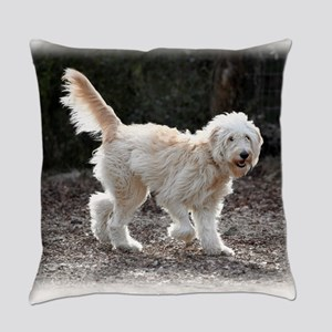 Goldendoodle Everyday Pillow