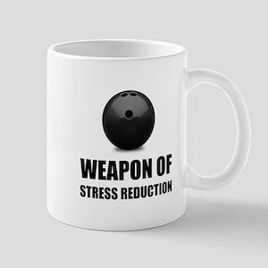 Weapon of Stress Reduction Bowling Mugs
