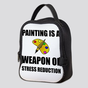 Weapon of Stress Reduction Painting Neoprene Lunch