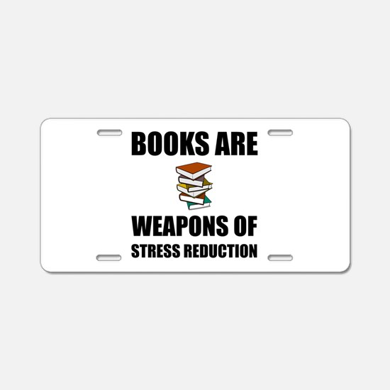 Weapons of Stress Reduction Reading Aluminum Licen