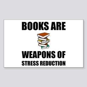 Weapons of Stress Reduction Reading Sticker