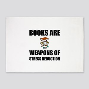 Weapons of Stress Reduction Reading 5'x7'Area Rug