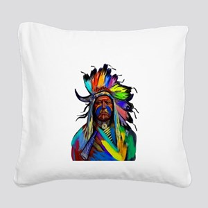 CHIEF Square Canvas Pillow