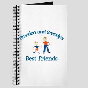 Braeden & Grandpa - Best Frie Journal