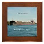 Indiana Harbor Framed Tile