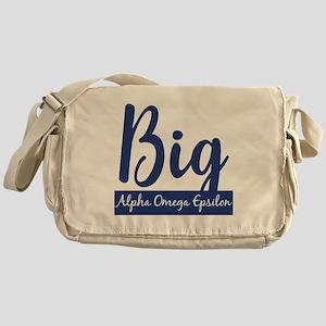 Alpha Omega Epsilon Big Messenger Bag