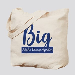 Alpha Omega Epsilon Big Tote Bag