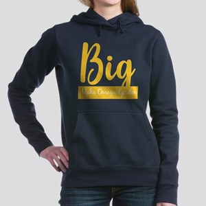 Alpha Omega Epsilon Big Women's Hooded Sweatshirt