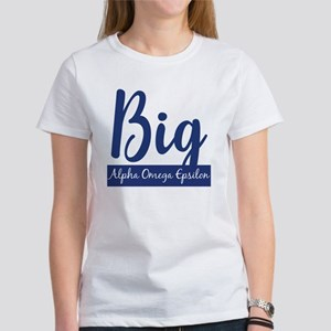 Alpha Omega Epsilon Big Women's T-Shirt