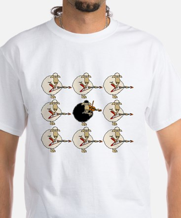 Stand Out From the Herd White T-Shirt