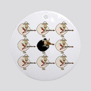 Stand Out From the Herd Ornament (Round)