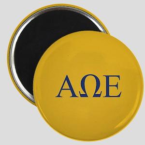 Alpha Omega Epsilon Letters Magnet