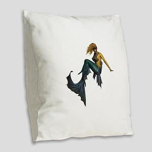 SHE Burlap Throw Pillow
