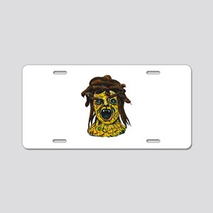 MEDUSA Aluminum License Plate