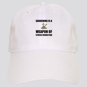 Weapon of Stress Reduction Gardening Baseball Cap