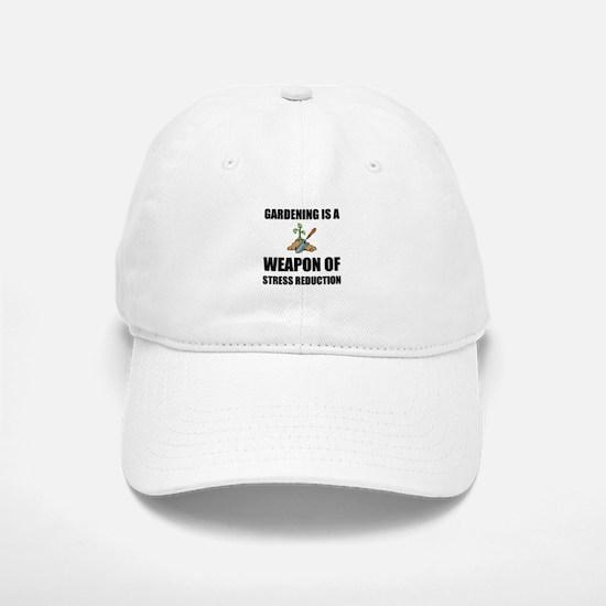 Weapon of Stress Reduction Gardening Baseball Baseball Baseball Cap