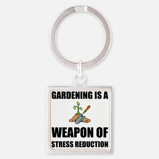 Weapon of Stress Reduction Gardening Keychains