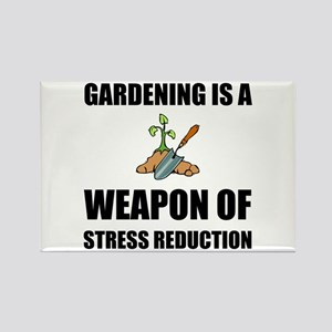 Weapon of Stress Reduction Gardening Magnets