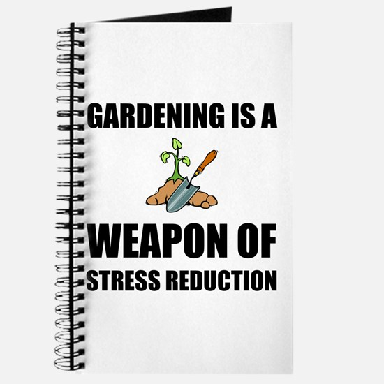 Weapon of Stress Reduction Gardening Journal