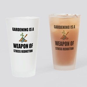 Weapon of Stress Reduction Gardening Drinking Glas