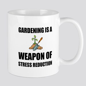Weapon of Stress Reduction Gardening Mugs