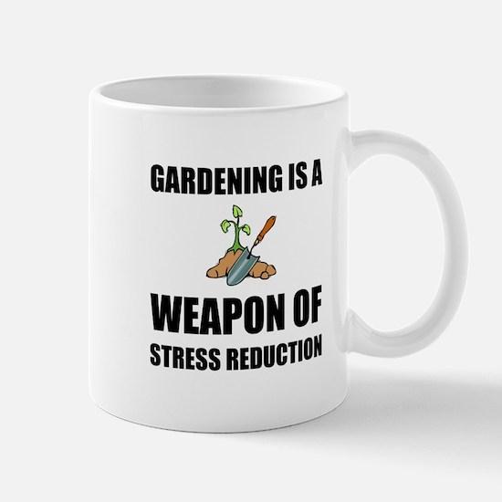 Weapon of Stress Reduction Gardening Mugs