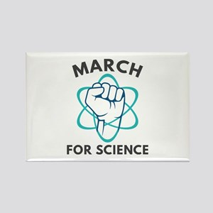 March For Science Rectangle Magnet