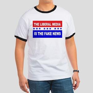 Liberal Fake News Ringer T