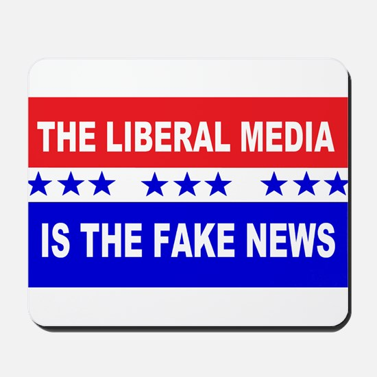 Liberal Fake News Mousepad