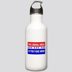 Liberal Fake News Stainless Water Bottle 1.0L