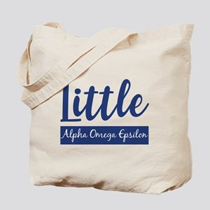 Alpha Omega Epsilon Little Tote Bag
