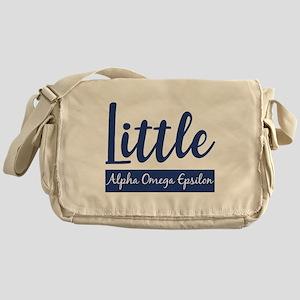 Alpha Omega Epsilon Little Messenger Bag
