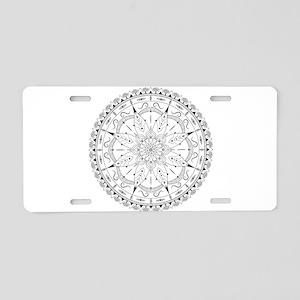 Fashionable oriental mandal Aluminum License Plate