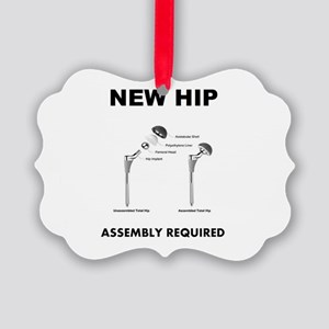 New Hip Picture Ornament
